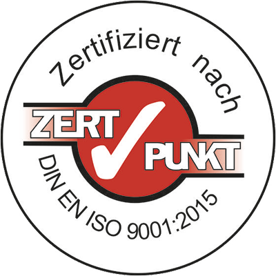 Zertifiziert nach DIN EN ISO 9001:2015